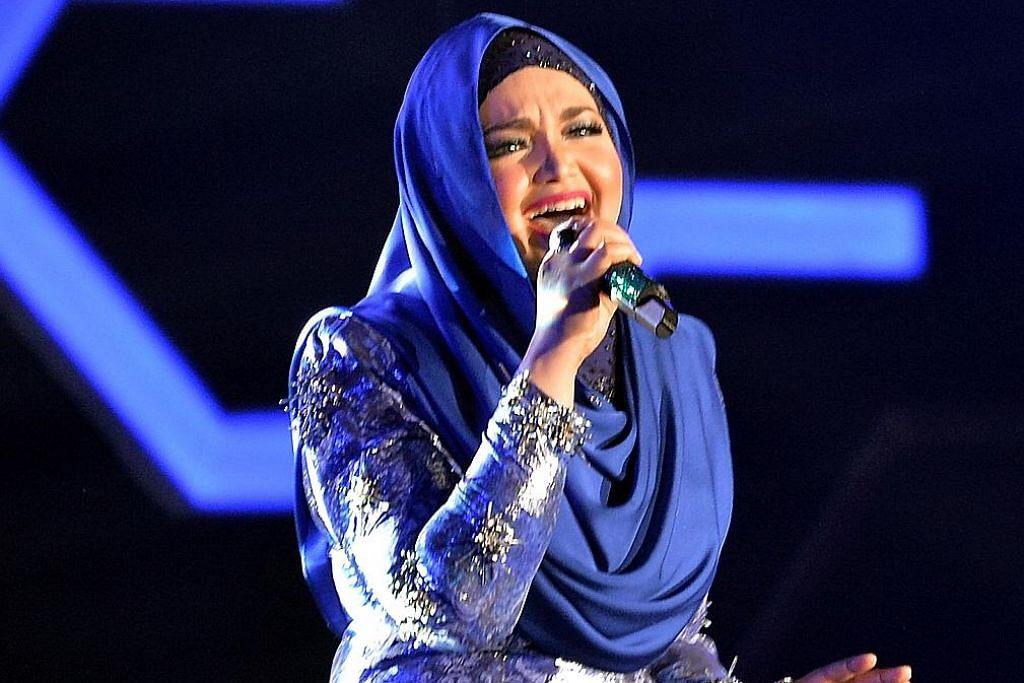 Siti Nurhaliza pesan pemenang anugerah bintang popular laksana tanggungjawab