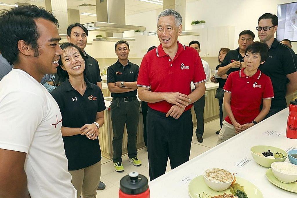 PM Lee gesa warga sokong atlit negara