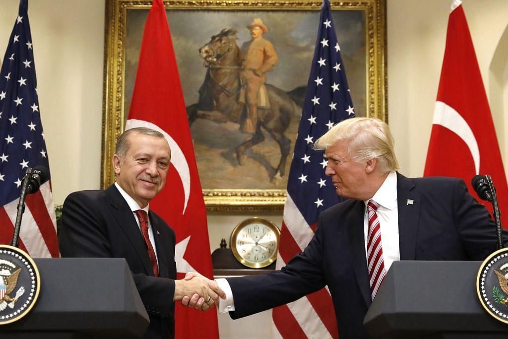 Erdogan, Trump ikrar perbaiki hubungan