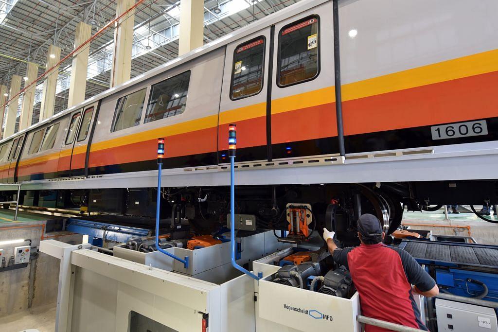 Depoh baru MRT terbesar dilengkapi teknologi canggih