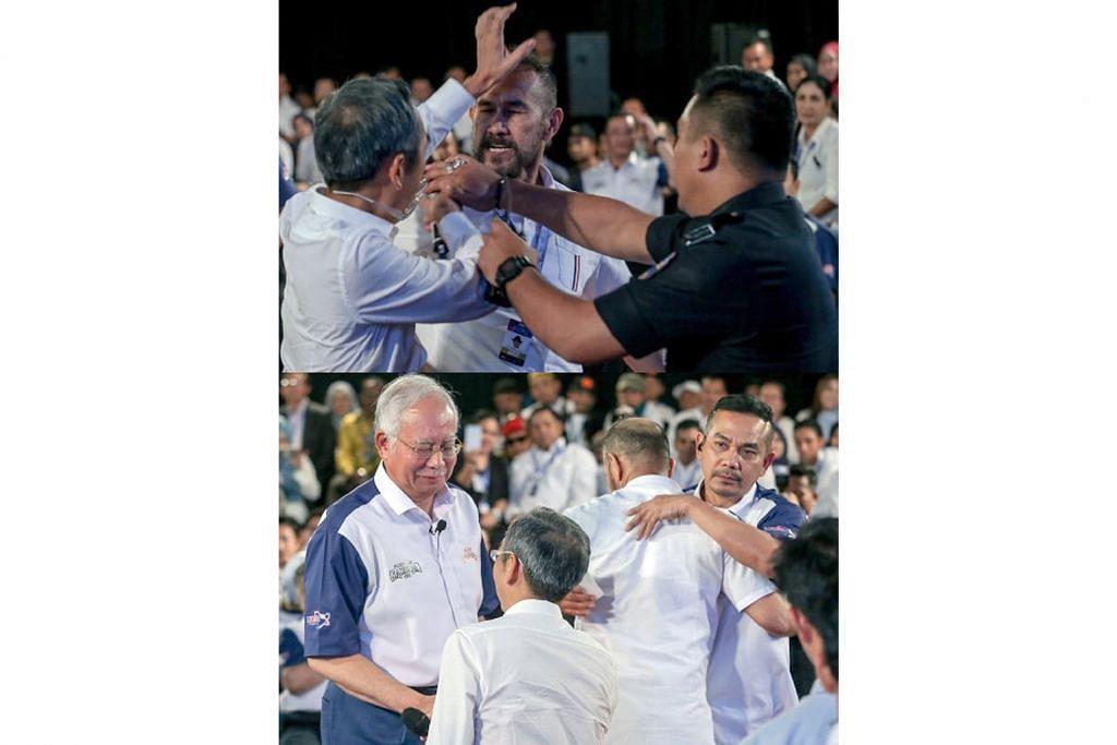 Pelawak, penerbit filem berdamai lepas insiden tampar depan Najib