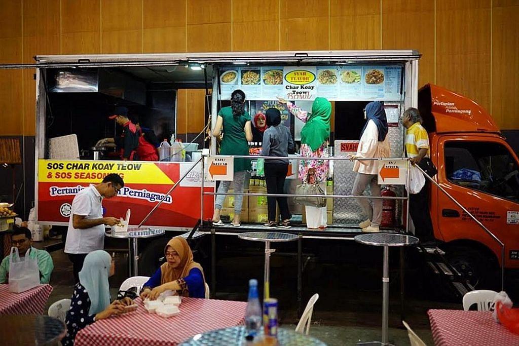 Trak makanan masuk ekspo