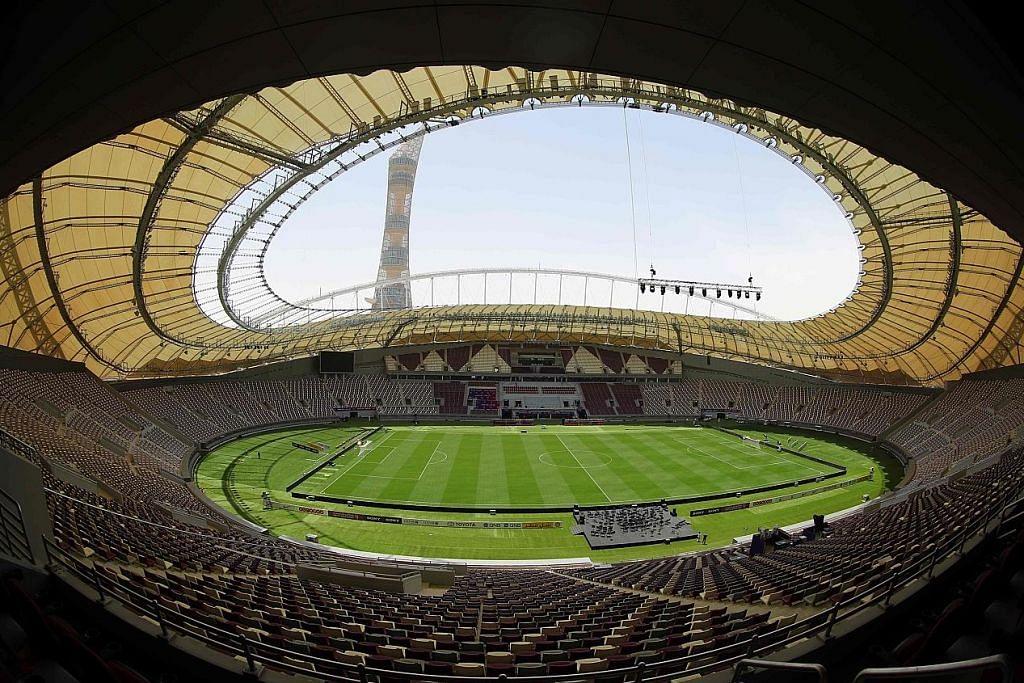 PERSIAPAN PIALA DUNIA 2022 Stadium pertama siap, lengkap dengan sistem hawa dingin