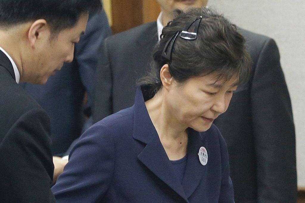 Park tidak mengaku salah atas tuduhan rasuah