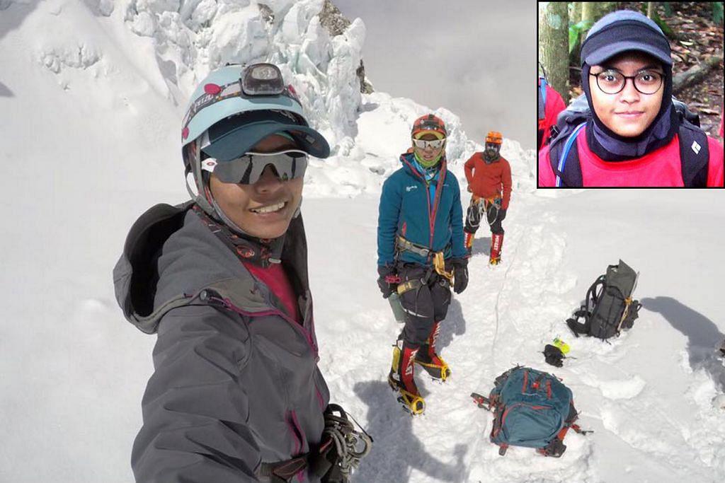Wanita Melayu S'pura pertama ke puncak Everest