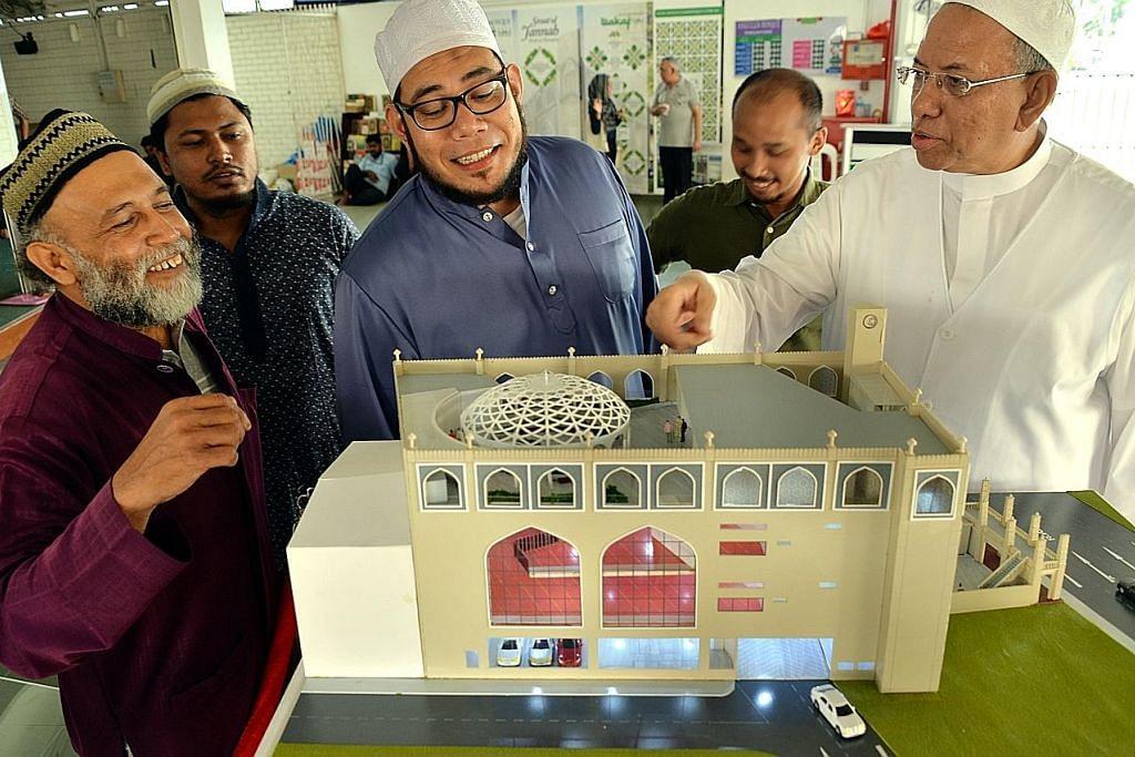 Masjid Angullia akan dibangun semula, jangka siap 2019