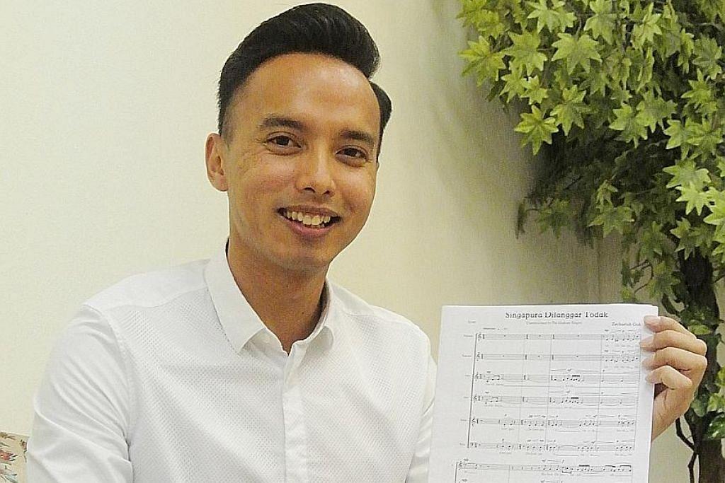 TGS nyanyi lagu sendiri dalam peraduan koir di Vietnam