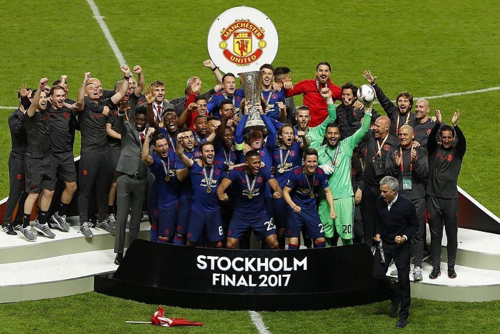 LIGA EUROPA Pogba, Mkhitaryan bantu Man U rangkul juara