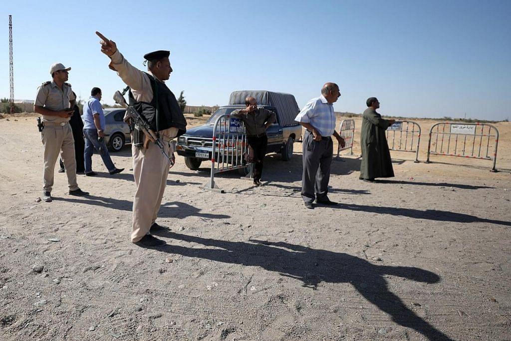 Mesir serang kem pengganas di Libya