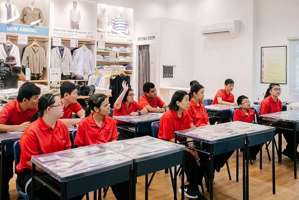 Pelajar berkeperluan khas raih kemahiran baru bidang runcit