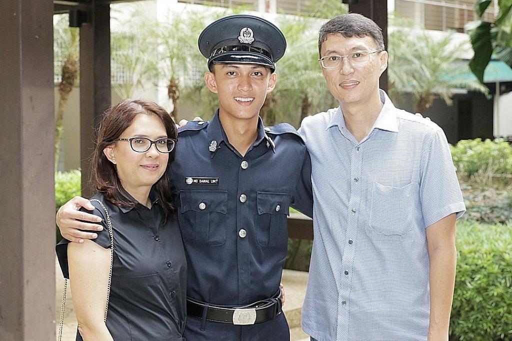 Anak ASP jadi graduan NS polis terbaik