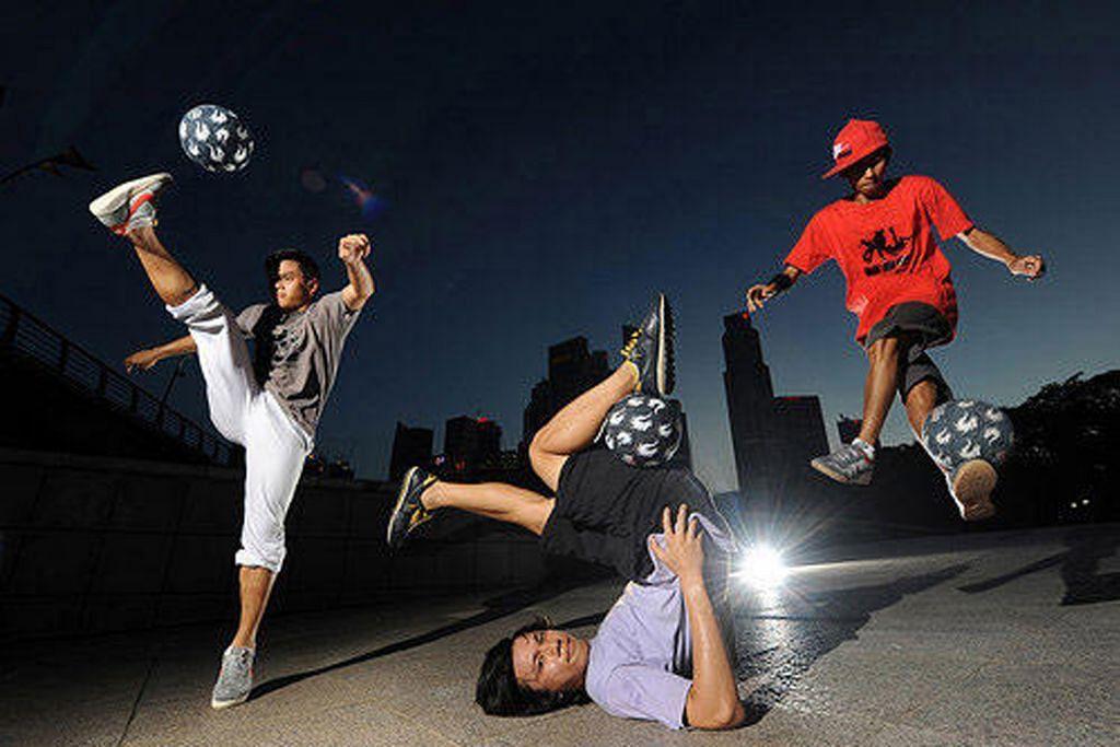 Ayuh sertai bengkel Football Freestyle