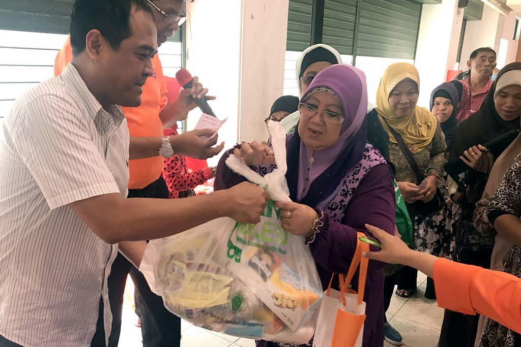 MAEC CC Kaki Bukit, Hira bantu golongan susah, keluarga penagih