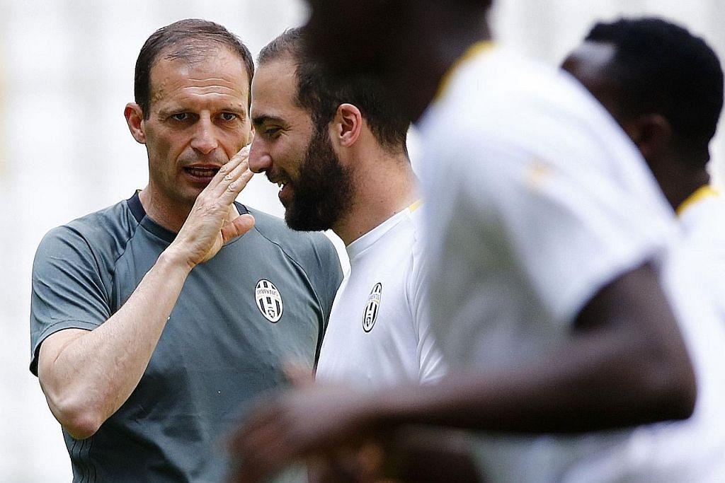 MENJELANG FINAL LIGA JUARA-JUARA Allegri: Tiba masa bagi Juventus bawa pulang trofi