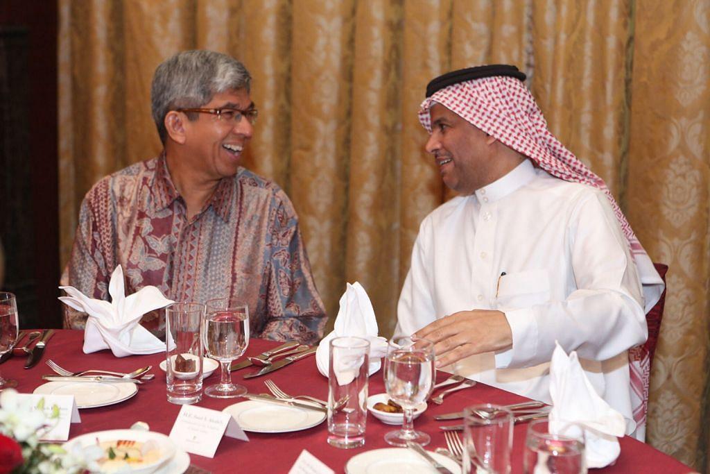 Iftar bersama, eratkan hubungan S'pura-Saudi