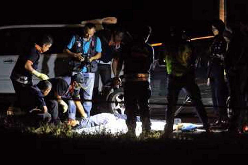 Dua suspek perompak asing ditembak mati polis di Kelantan