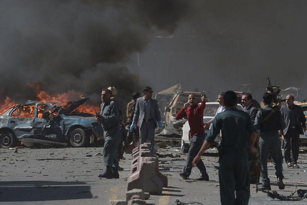 Sekitar 80 maut letupan di Kabul