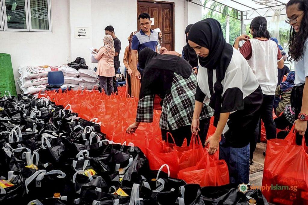 Lebih ramai relawan diperlu bagi hantar 'bakul amal'
