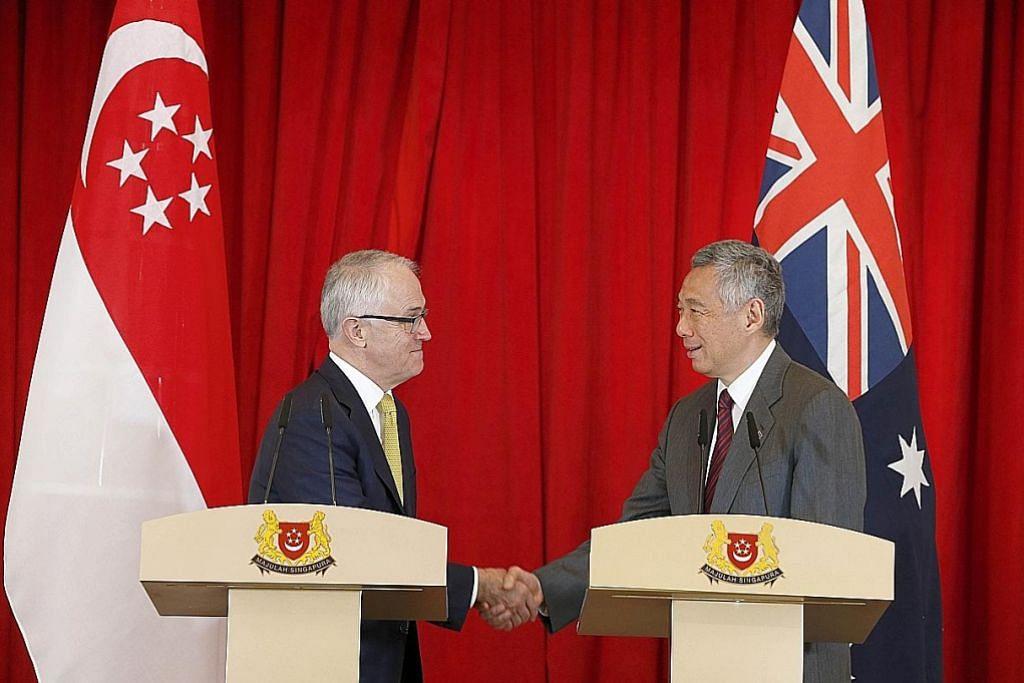 S'pura, Australia jalin kerjasama kekang ancaman siber