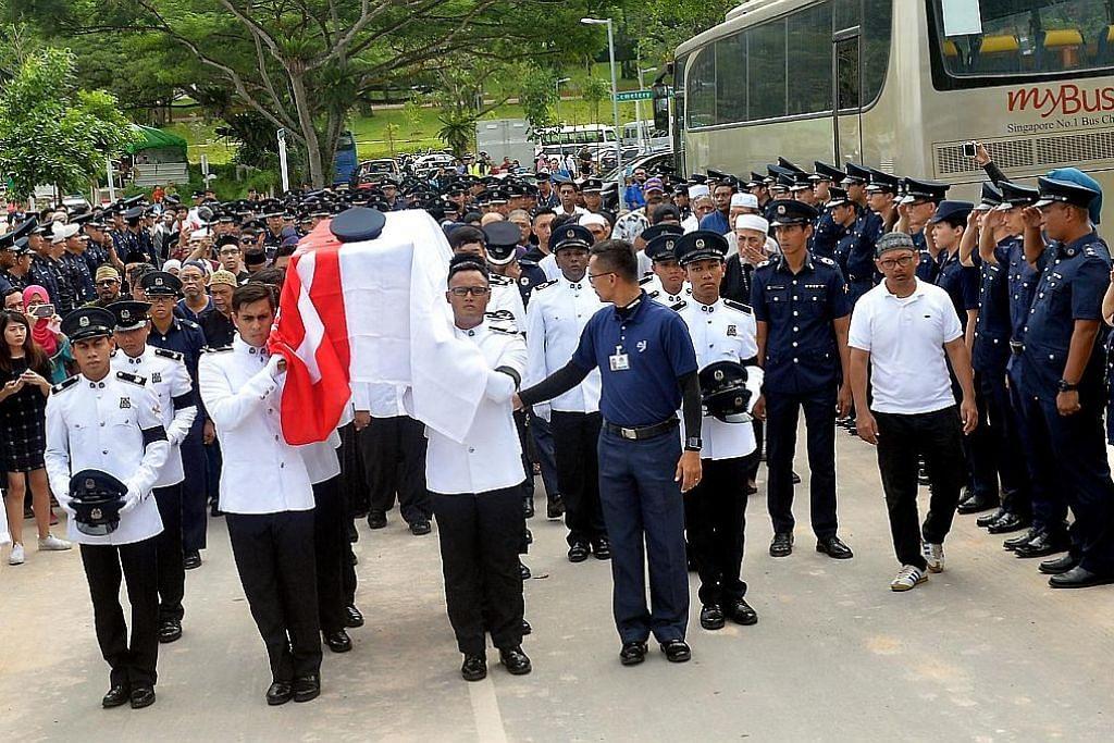 Penghormatan bagi sarjan polis gugur tika bertugas