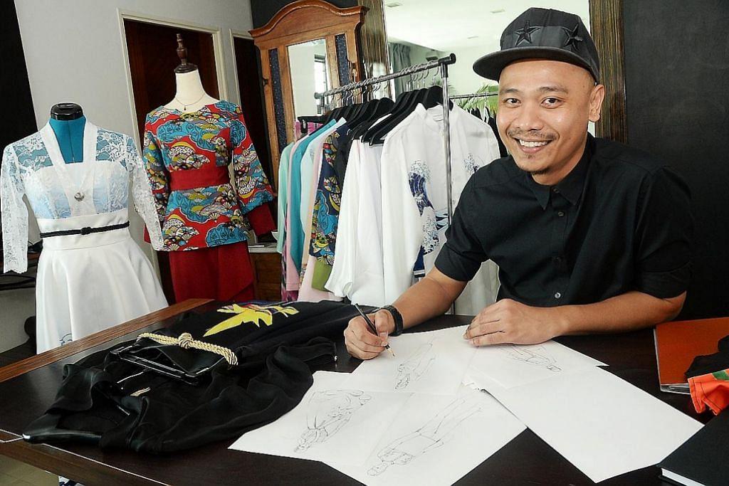 Yakin potensi niaga baju Melayu dari rumah