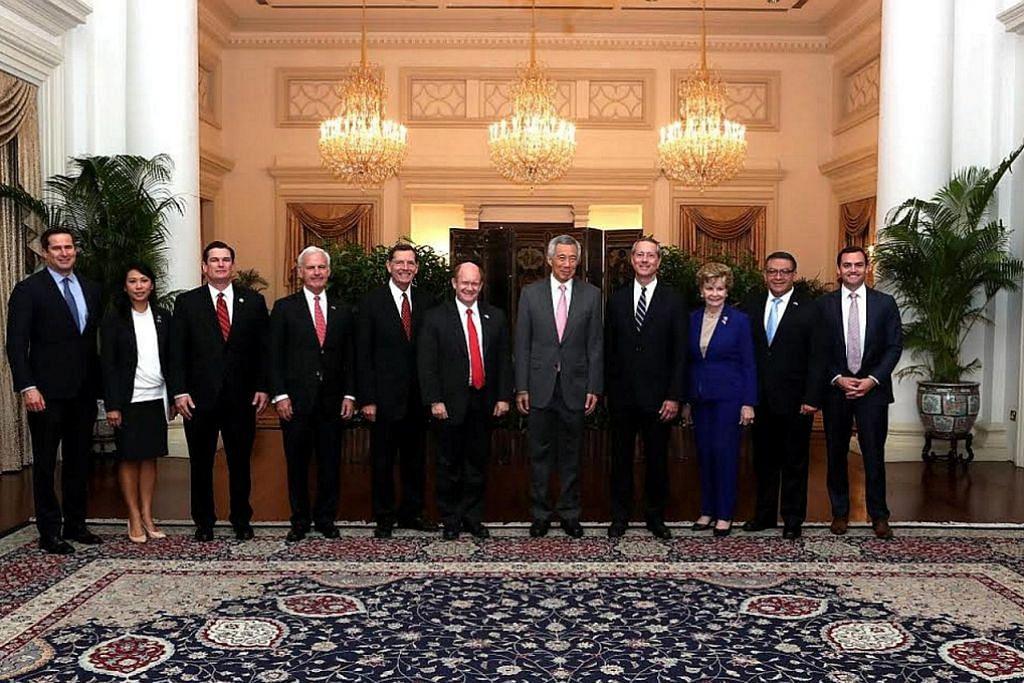 PM Lee hargai komitmen berterusan Amerika