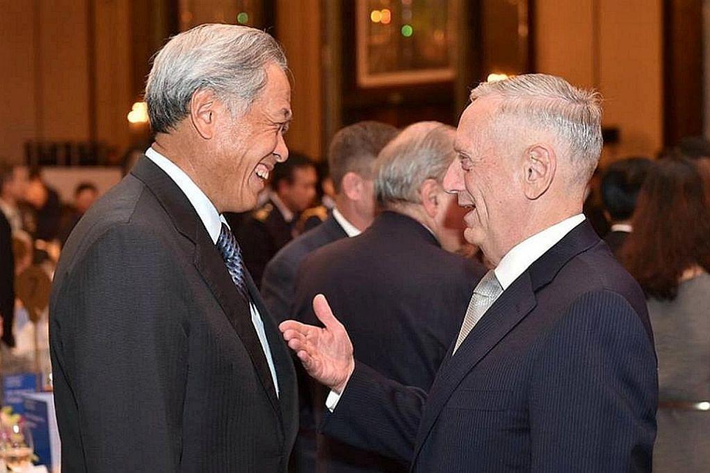 Eng Hen, Mattis sahkan hubungan pertahanan Singapura, Amerika