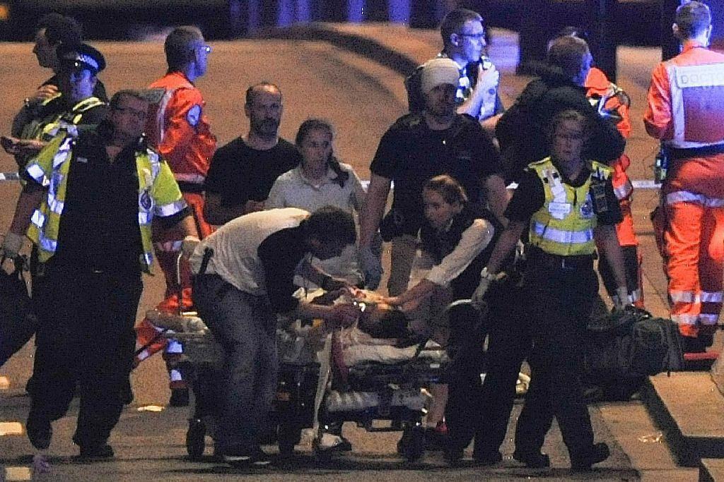 Beberapa saksi nampak mangsa cedera di leher