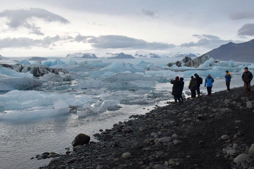 Pelancong ke Iceland semakin bertambah