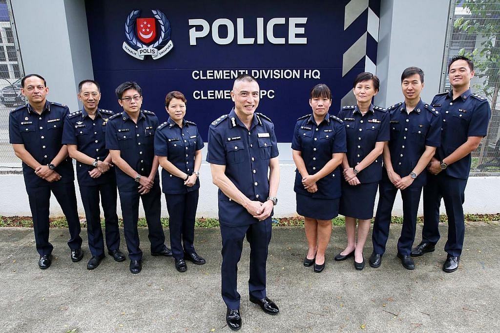 Polis Clementi Divisyen Darat Terbaik