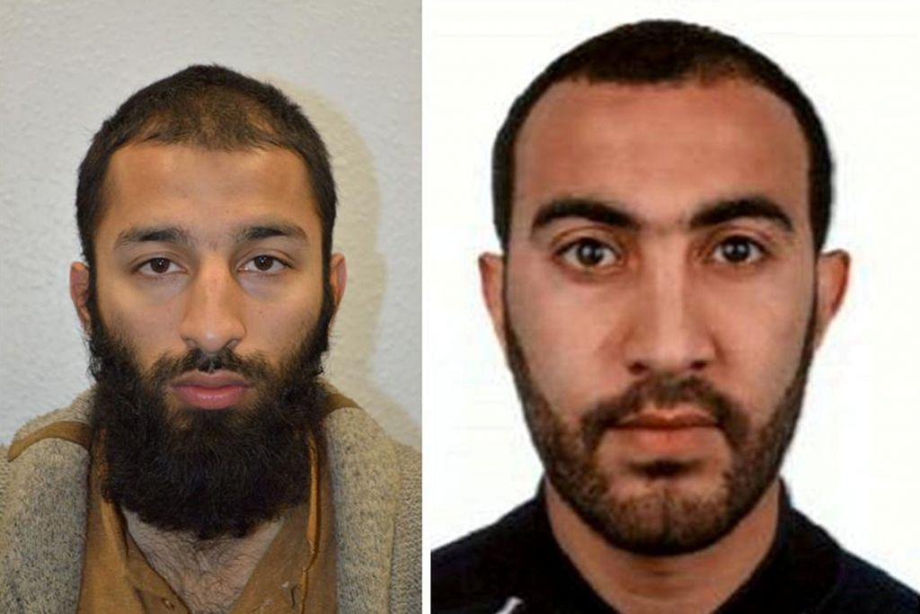 PENGGANASAN DI CENTRAL LONDON Seorang penyerang diketahui polis