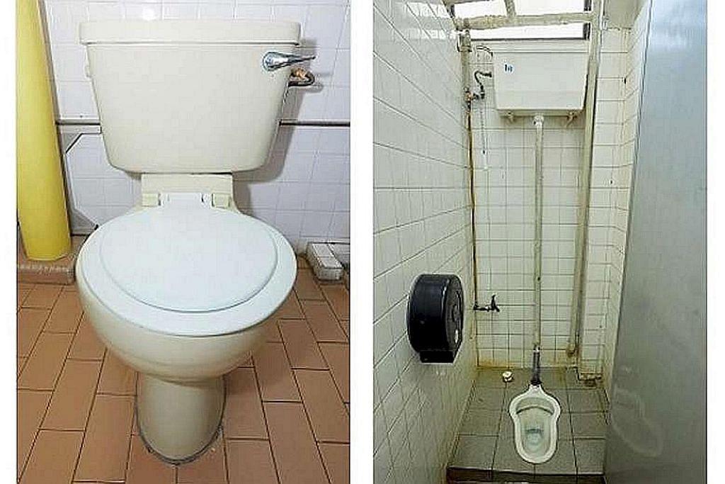 Tandas baru lebih jimat air bagi keluarga memerlukan di flat lama