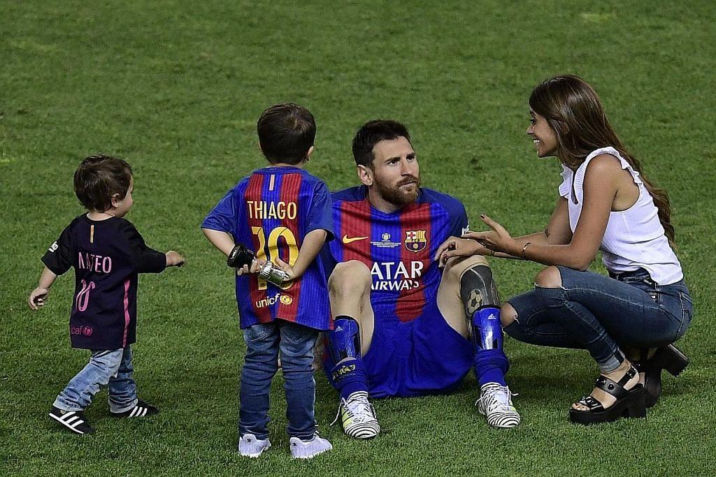 Messi tidak datang...
