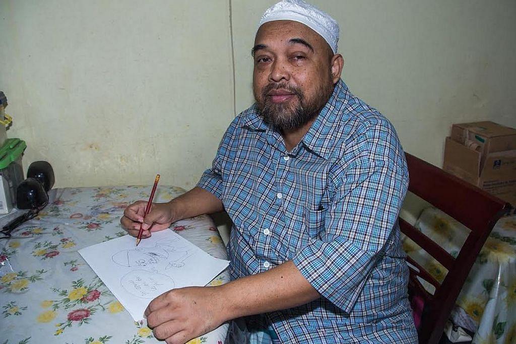 Sumber rezeki Ustaz Ismail 'Ban' terjejas dek sakit ginjal