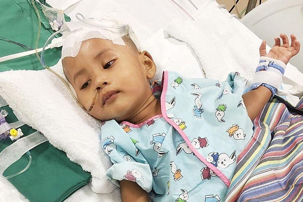 Anak dua tahun diserang penyakit secara mendadak