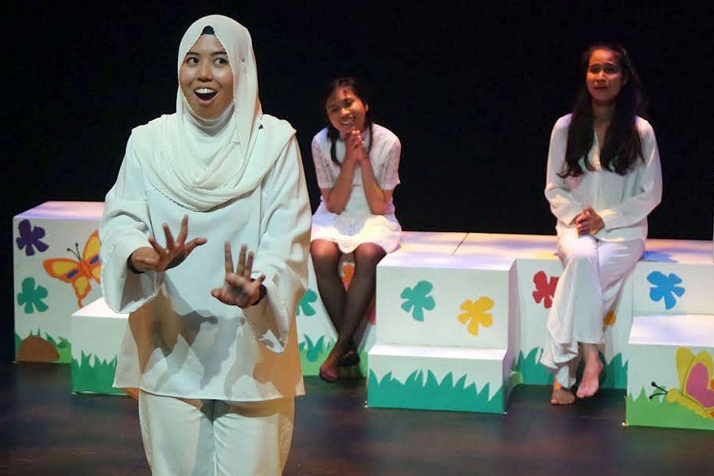 Minat pada seni lakonan bukan main-main