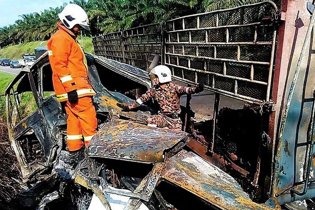 Enam sekeluarga mati nahas dekat Negeri Sembilan