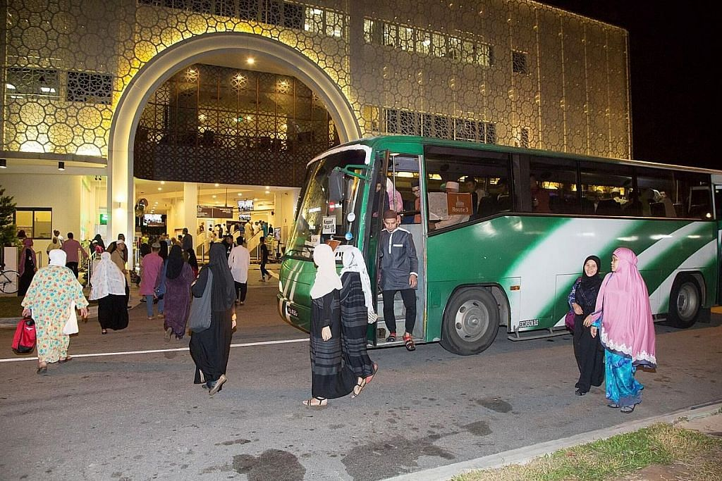 Masjid Maarof sedia bas percuma bagi tarawih