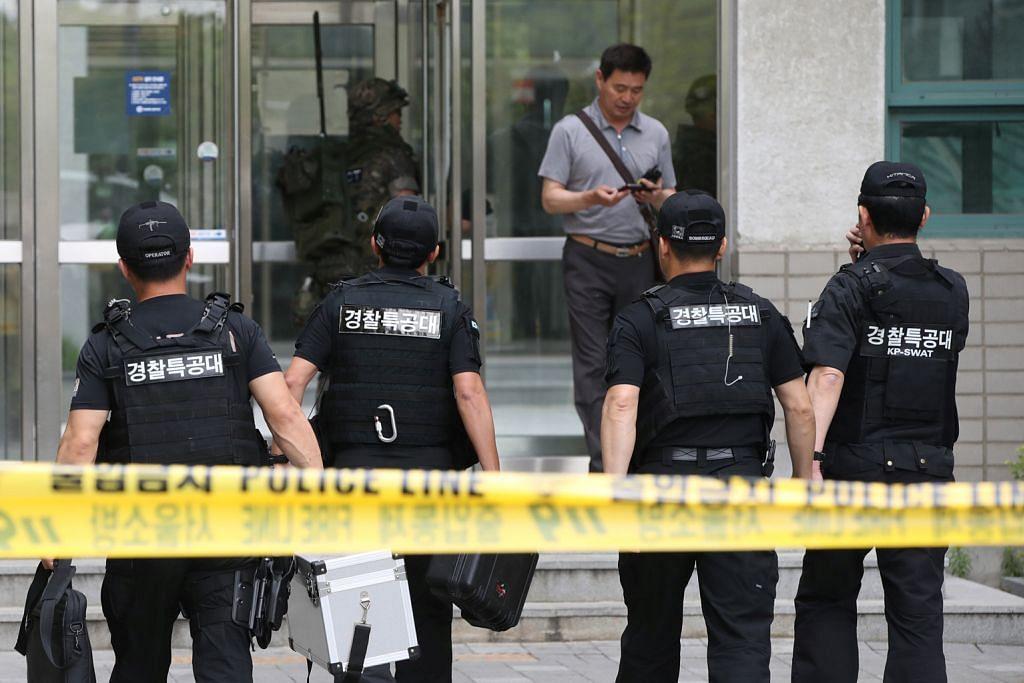 Profesor cedera di Korea Selatan apabila bungkusan meletup di universiti