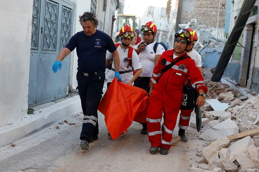 Gempa gegarkan Greece, Turkey