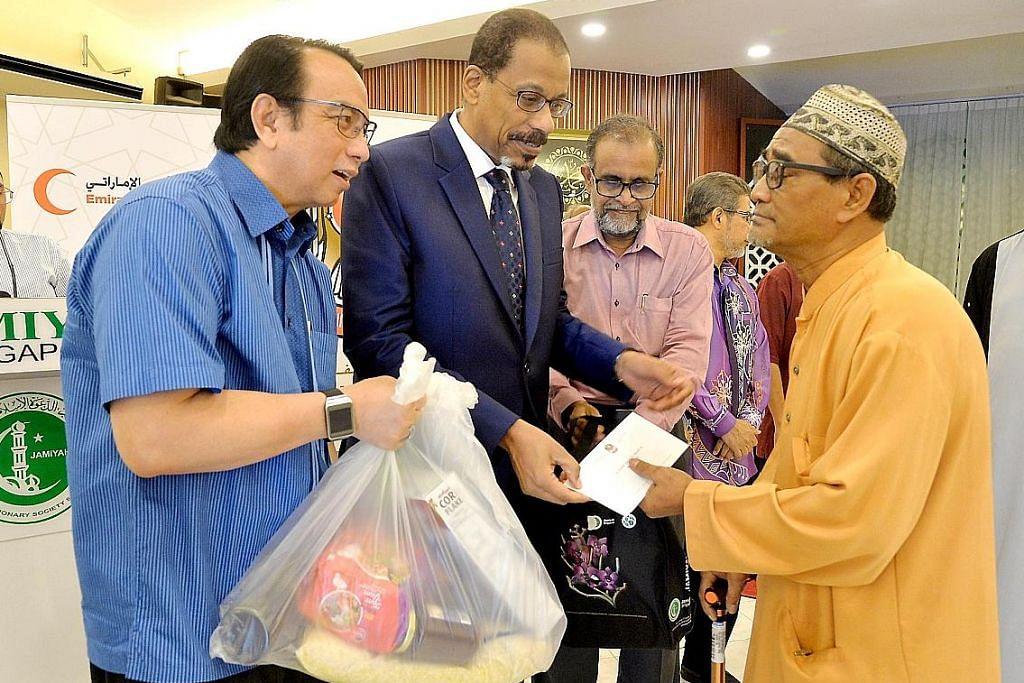 75 benefisiari dapat bantuan Jamiyah, Kedutaan UAE