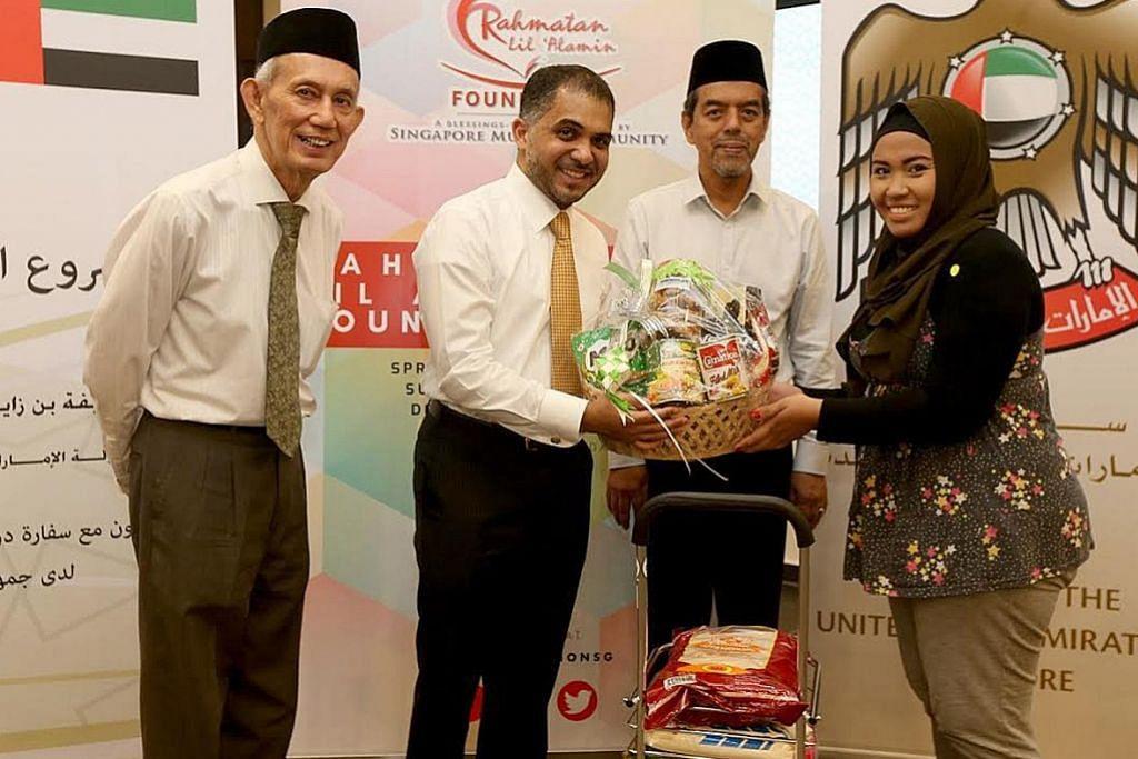 200 keluarga memerlukan dirai dengan iftar istimewa