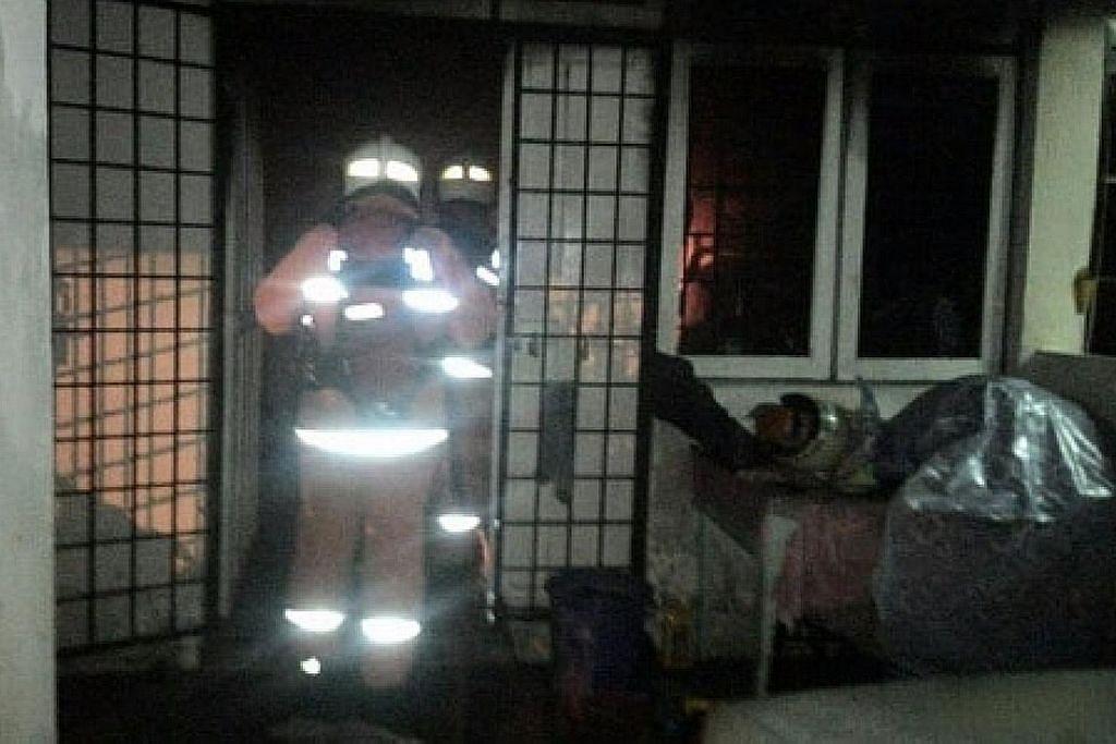 2 maut dalam kebakaran di Perak