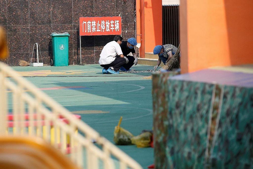 Jenayah disyaki dalam letupan maut di tadika China