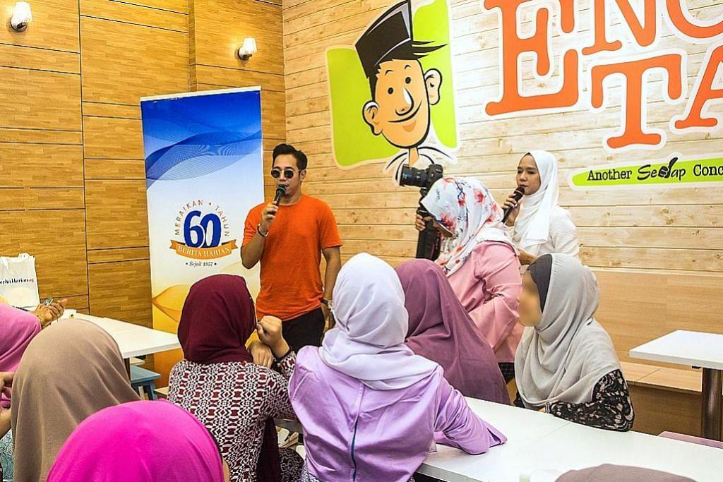 Kejutan oleh Sufi di iftar bagi gadis pusat remaja Pertapis SAMBUTAN ULANG TAHUN KE-60 BERITA HARIAN