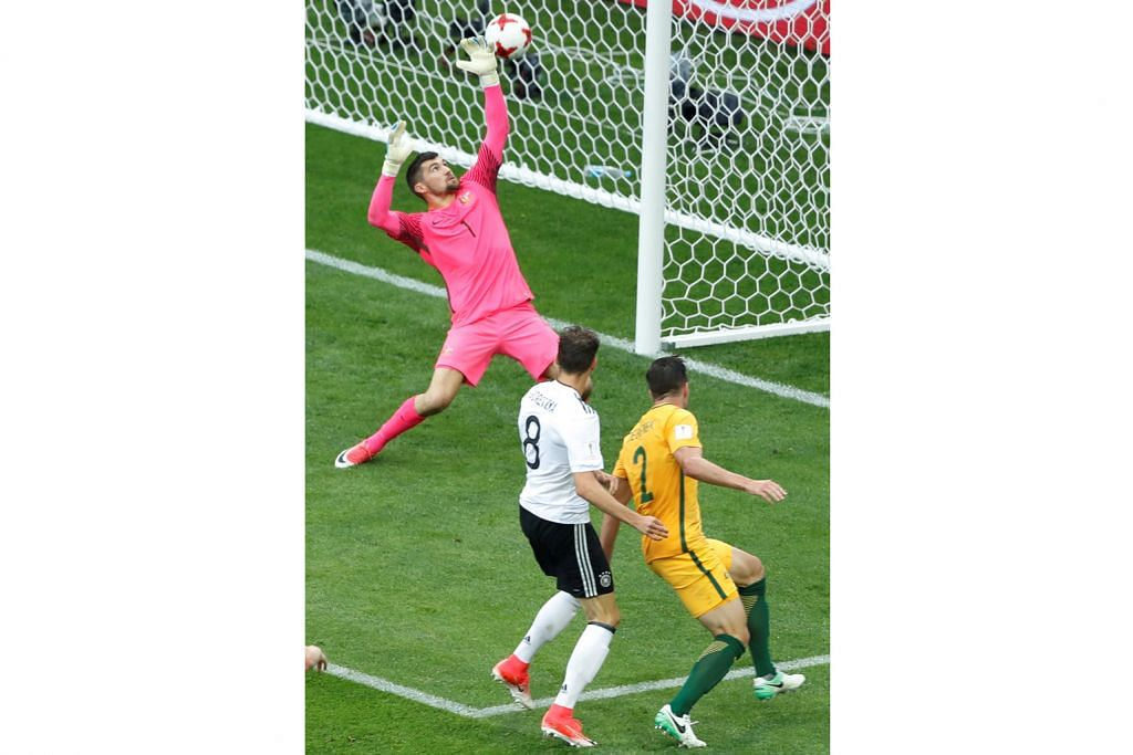 PIALA KONFEDERASI Pasukan muda Jerman tundukkan Australia 3-2