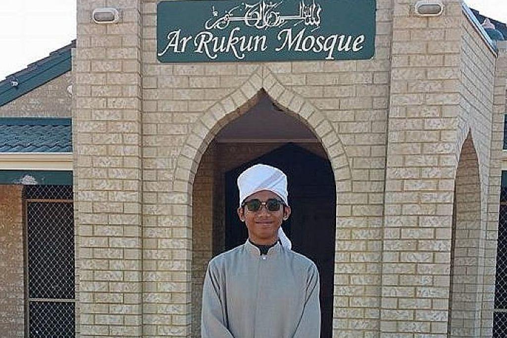 'Imam muda' Singapura pimpin tarawih masjid di Australia