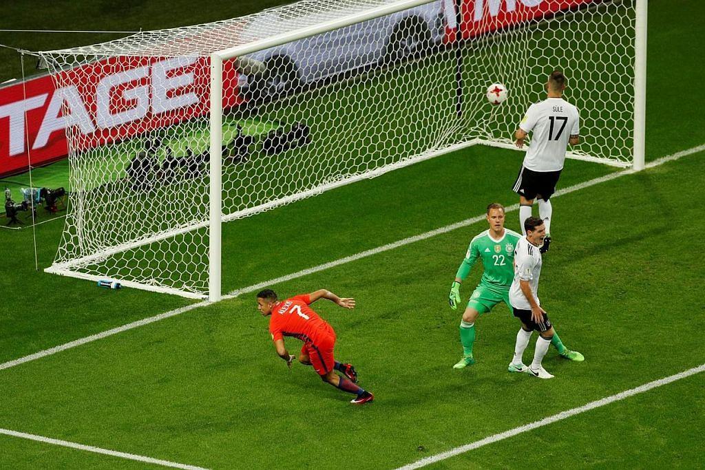 Sanchez penjaring terbanyak Chile lepas seri dengan Jerman