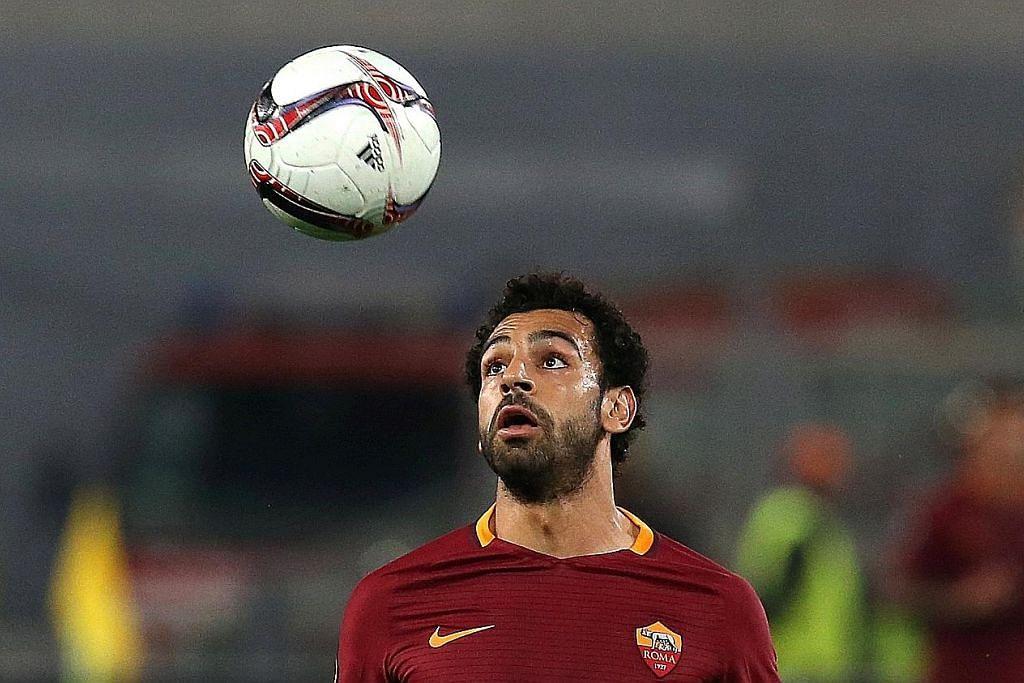 Salah sah pindah ke Liverpool dari Roma