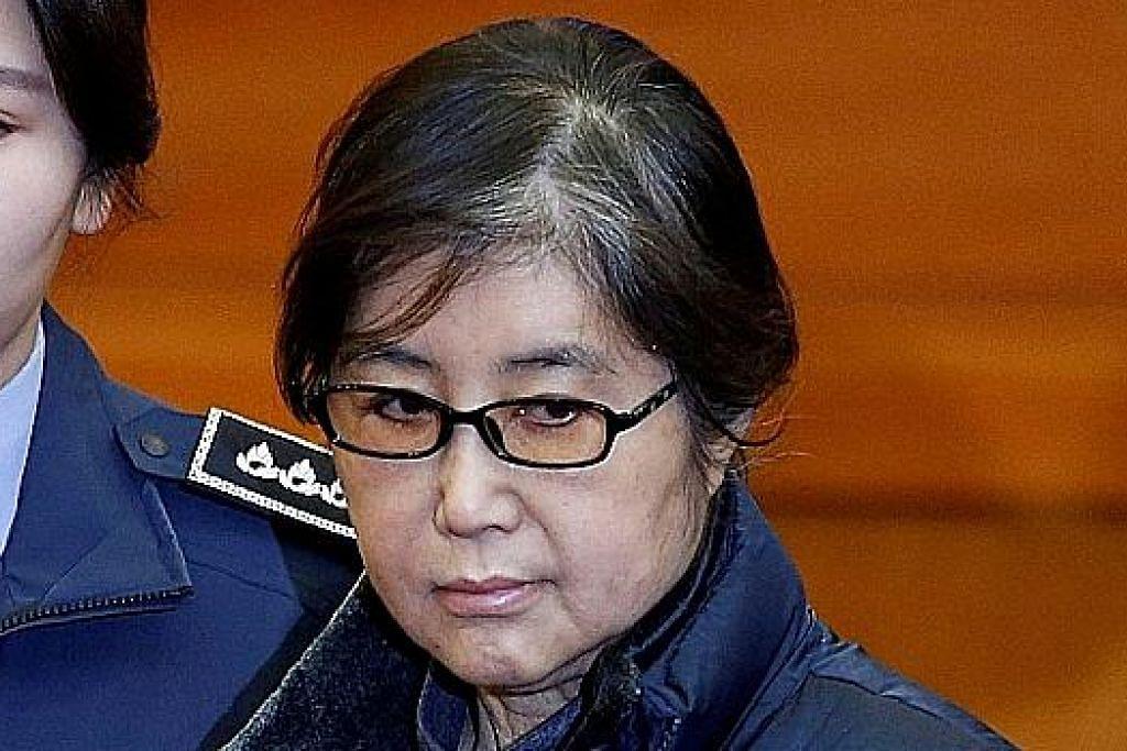 Rakan bekas presiden Korea Selatan dihukum penjara tiga tahun